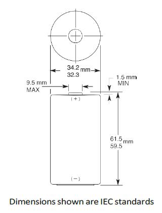 mn1300 batterij