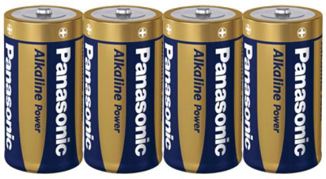 Panasonic Alkaline Power C 4x