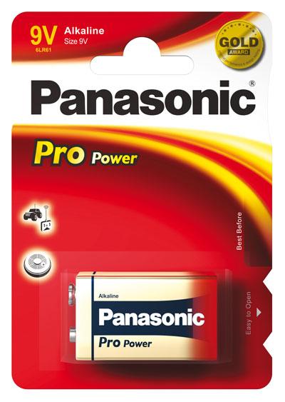 Panasonic Pro Power Alkaline 9v blok