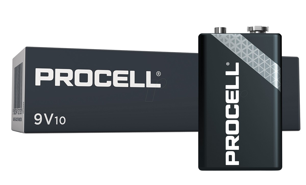 Procell 9V Alkaline 10x