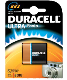 Duracell Ultra DL223 - CR-P2