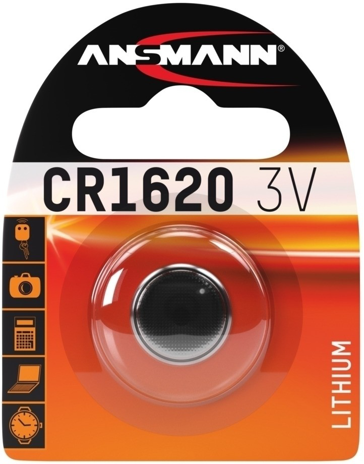 Ansmann Lithium CR 1620, 3 V Battery (5020072)
