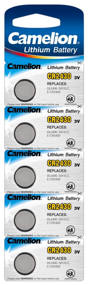 Camelion CR2430 5x