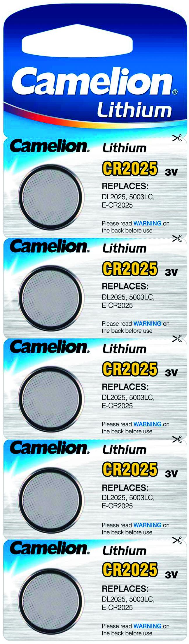 Camelion CR2025 5x