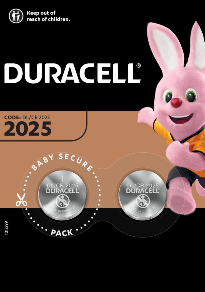 Duracell CR2025 2x