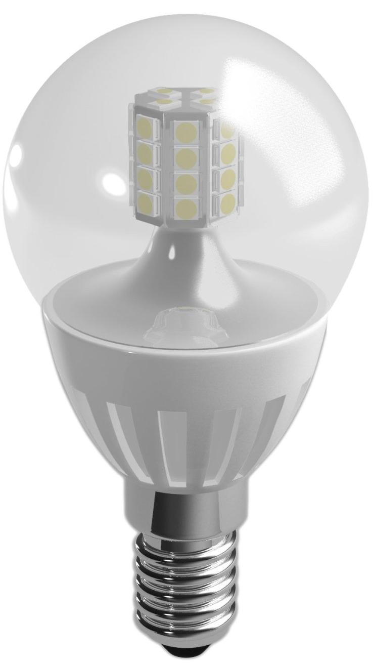 Duracell LED lamp 3.5W E14 Kogel Helder Dimbaar