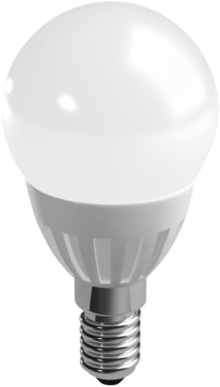 Duracell LED lamp 3.5W E14 Kogel Mat Dimbaar