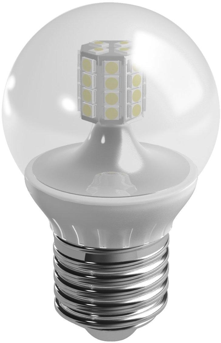Duracell LED lamp 3.5W E27 Kogel Helder Dimbaar