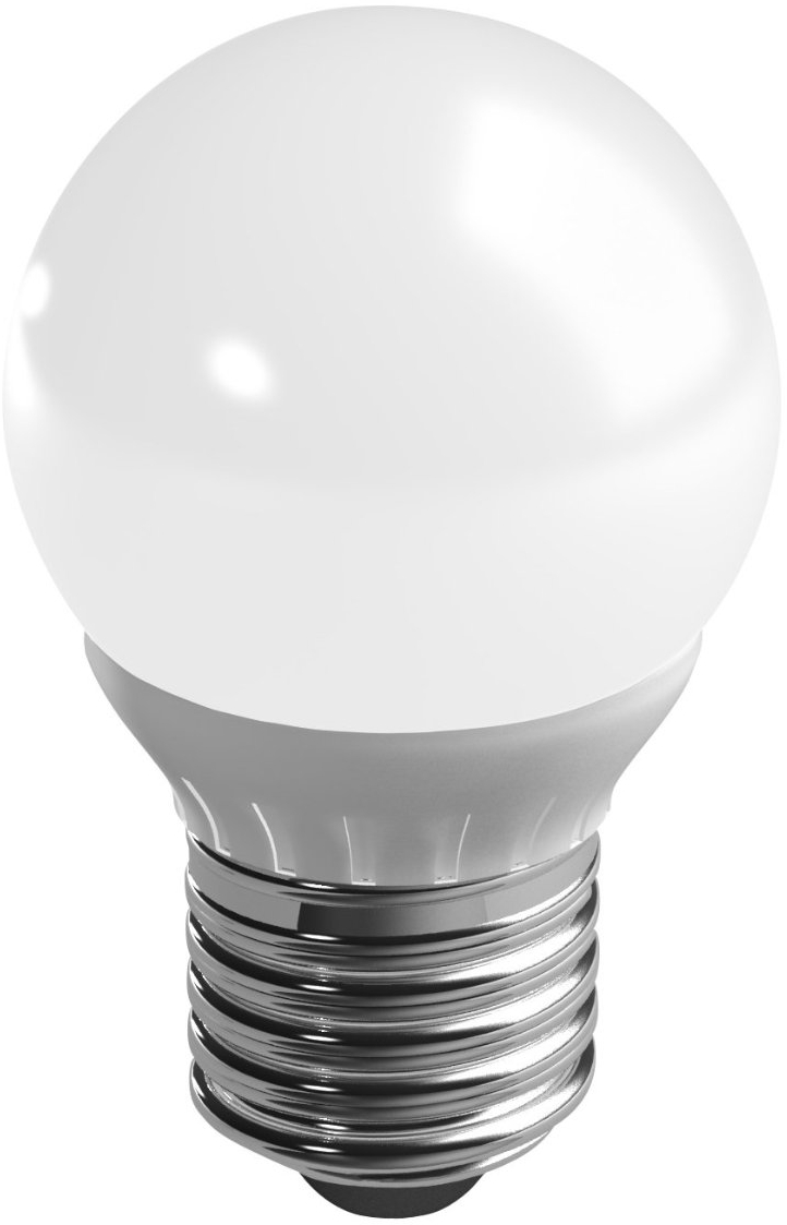 Duracell LED lamp 3.5W E27 Kogel Mat Dimbaar