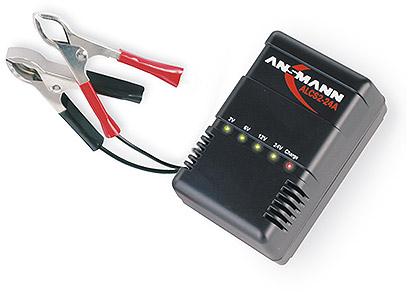 ANSM acculader el gereedschap, nom. 2V, max. laadcapaciteit 24Ah