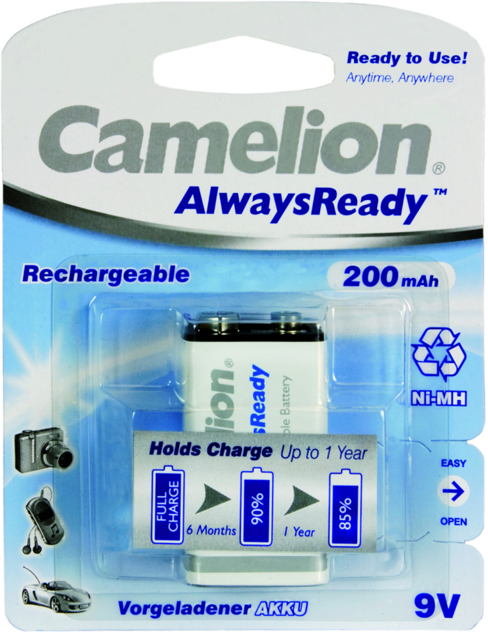 Camelion Always Ready 200mAh 9v