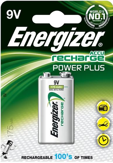 Energizer Enrpp3p1 Batterij Nimh Lr22 8.4 V 175 Mah Powerplus 1-blister