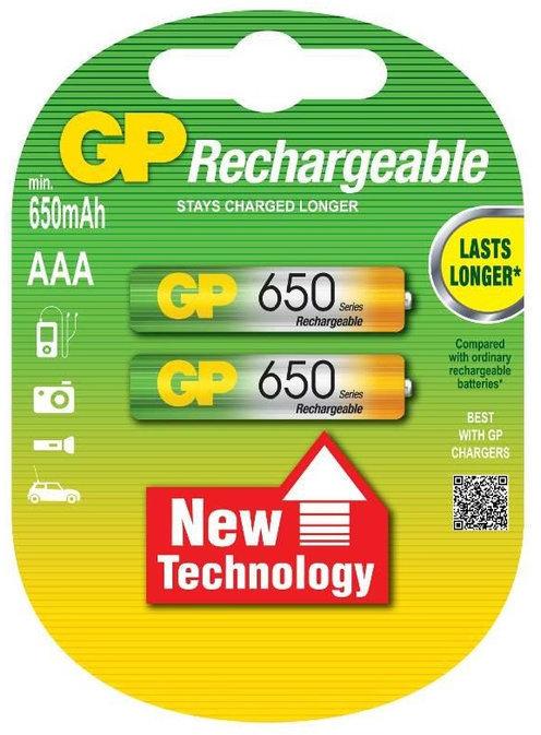 GP AAA 650mAh 2x