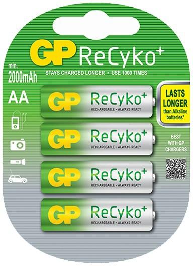 GP Recyko AA 2000mAh 4x