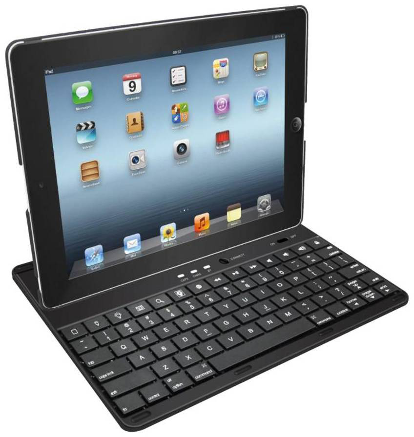 Grixx Grixx Optimum Case & Keyboard iPad 2-3-4 (GRIPABTKB01)