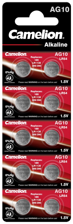 Camelion AG10 - LR1130 10x