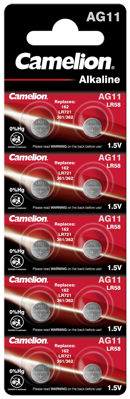Camelion AG11 - LR721 10x