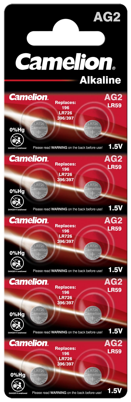 Camelion AG2 - LR726 10x