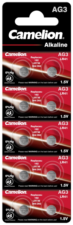 Camelion AG3 - LR41 10x