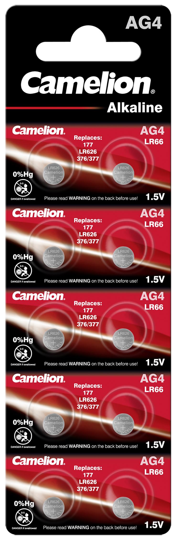 Camelion AG4 - LR626 10x