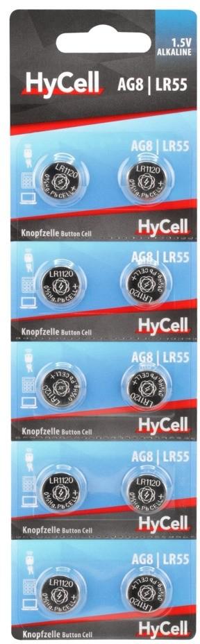 HyCell AG8 - LR55 10x
