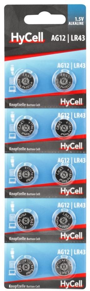 HyCell AG12 - LR43 10x