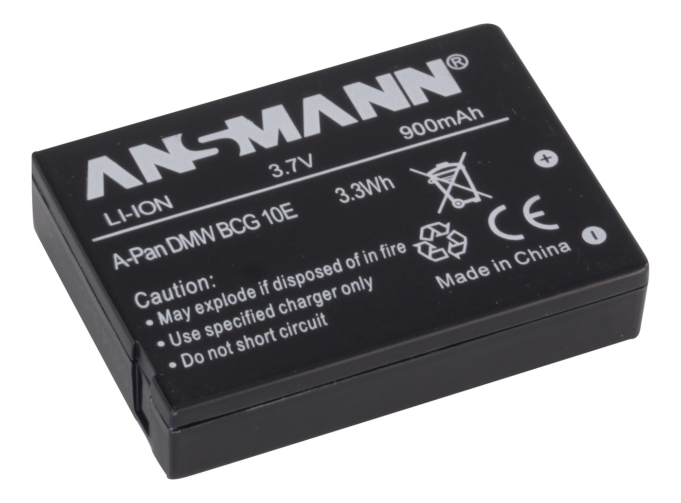 Ansmann A-Pan BCG 10E (5044593)