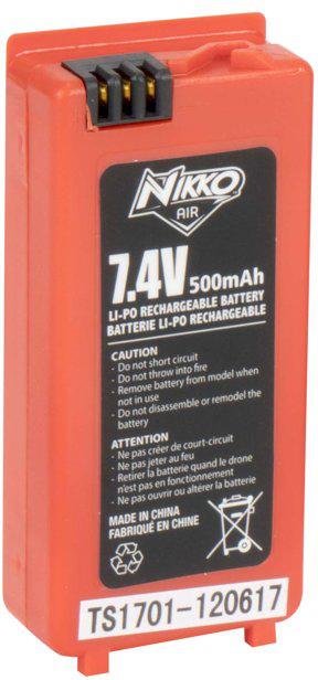 Nikko Air Race Vision Oplaadbare Reserve Batterij 7,4V Li-PO