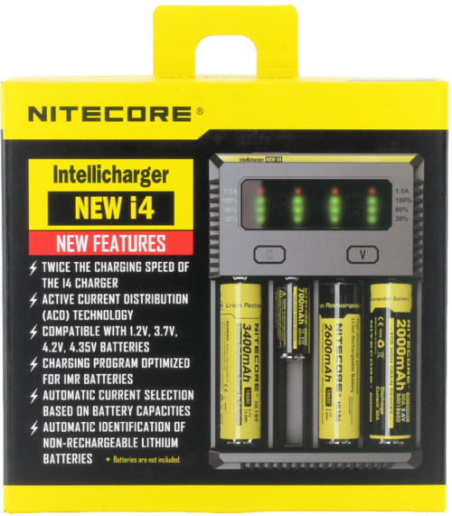 Nitecore Intellicharge New i4