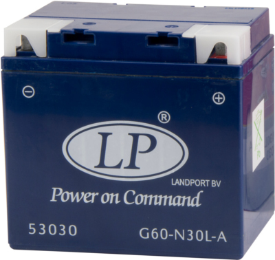 Landport GEL Startaccu 12V 30Ah MG G60-N30L-A